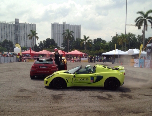 Youth United Festival 2014 – Car Drifting