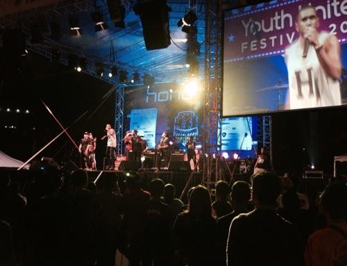 YU Fest stage concert performance