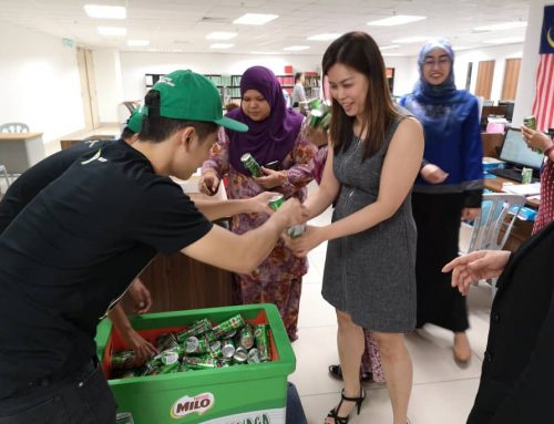 Milo Campus Take Over Campaign 2019 – product sampling (lecturer)