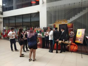 Nescafe Smoovlatte Roadshow 2019 - Booth with Crowd