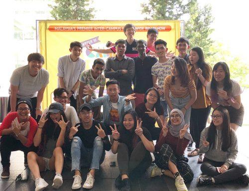Taylor's University Students at Campus Mania