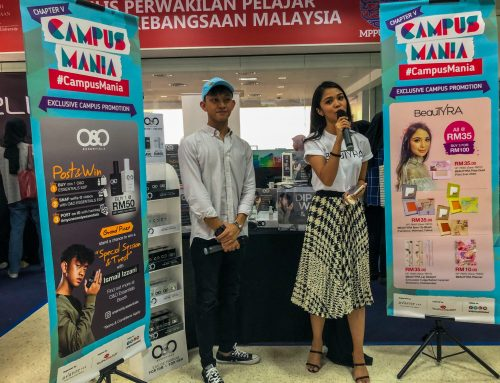 BeauTyra & O&O Essentials booth