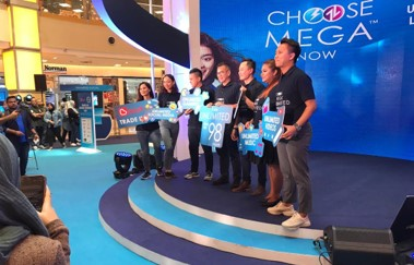 Celcom Project Star - stage launch